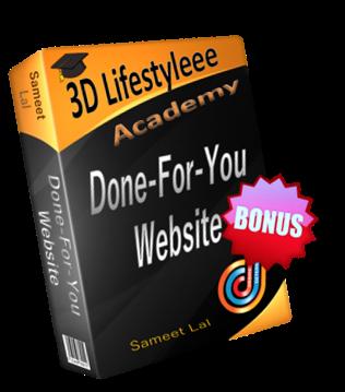Done-For-You Website [BONUS] course image